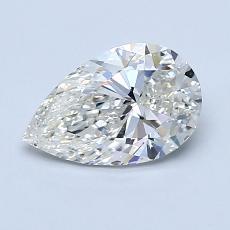 推薦鑽石 #3: 1.07 克拉梨形鑽石