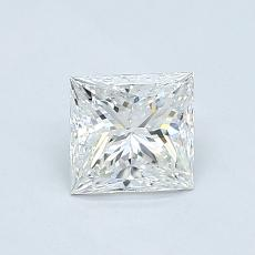 Recommended Stone #2: 0.70-Carat Princess Cut Diamond