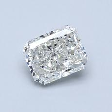 Recommended Stone #3: 0.74-Carat Radiant Cut Diamond
