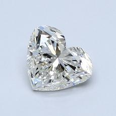 Recommended Stone #1: 1.00-Carat Heart Cut Diamond