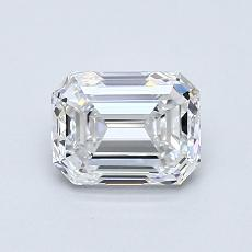 Recommended Stone #1: 0.90-Carat Emerald Cut Diamond