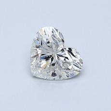 Recommended Stone #3: 0.50-Carat Heart Cut Diamond