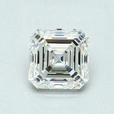 Recommended Stone #3: 1.07-Carat Asscher Cut Diamond
