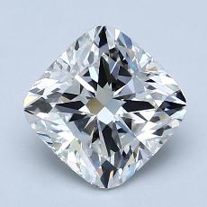 2.02-Carat Cushion Diamond Very Good F SI1