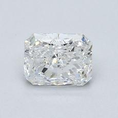 0,70-Carat Radiant Diamond Very Good E VS2