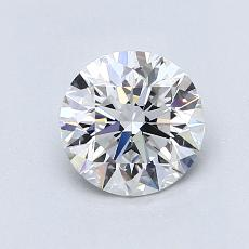 1,00-Carat Round Diamond Ideal E VS1
