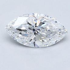 1.01-Carat Marquise Diamond Very Good D IF