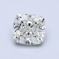1.06-Carat Cushion Diamond Very Good H VS1