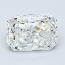 3.08-Carat Radiant Diamond Very Good H VS2