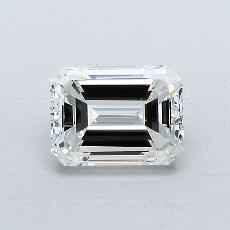 Recommended Stone #3: 1,00-Carat Emerald Cut Diamond