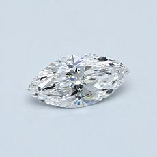 Recommended Stone #4: 0.32-Carat Marquise Cut Diamond