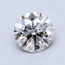 1.15 Carat 圓形 Diamond 理想 K VVS1