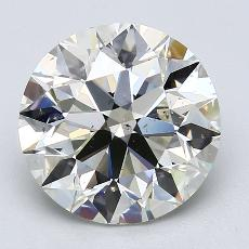 Recommended Stone #1: 3.50-Carat Round Cut Diamond