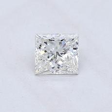 推薦鑽石 #2: 0.41  克拉公主方形鑽石