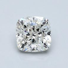 1.01-Carat Cushion Diamond Very Good H VVS2