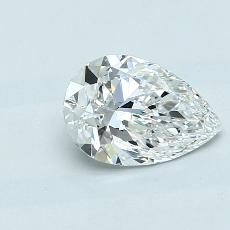 Current Stone: 1,01-Carat Pear Shaped