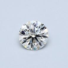 0.41-Carat Round Diamond Ideal F VVS2