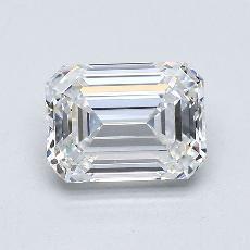 推荐宝石 2:1.59 克拉祖母绿切割钻石