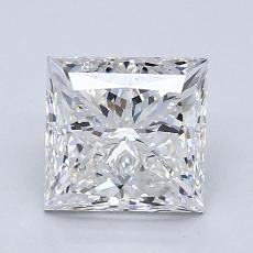 2.00-Carat Princess Diamond Very Good F VS2