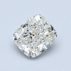 1.00-Carat Cushion Diamond Very Good K SI1