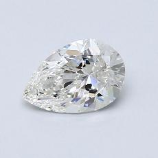 0.70-Carat Pear Diamond Very Good H VS2