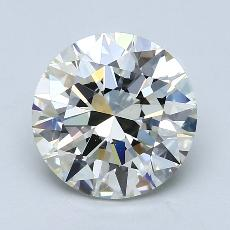 Recommended Stone #4: 3.00-Carat Round Cut Diamond