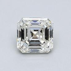 Piedra recomendada 4: Diamante de talla Asscher de 0.80 quilates
