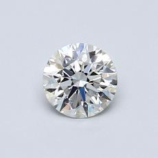 0,50 Carat Redondo Diamond Ideal E IF