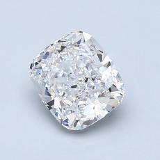 推荐宝石 1:1.04 克拉垫形钻石