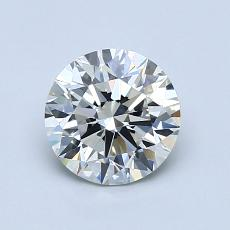 推荐宝石 4:1.06克拉圆形切割钻石