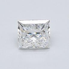 0.80 Carat プリンセス Diamond ベリーグッド E VS1