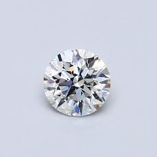 0.40-Carat Round Diamond Good E SI1