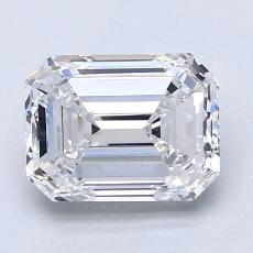 Recommended Stone #3: 2.26-Carat Emerald Cut Diamond