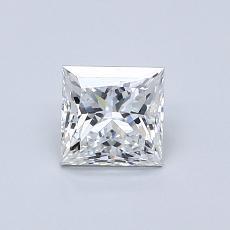 推荐宝石 2:0.70 克拉公主方形钻石