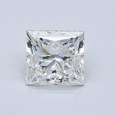 1,03-Carat Princess Diamond Very Good G VVS2