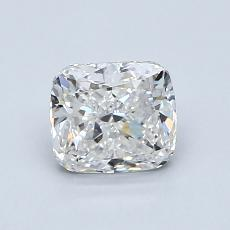 1.02-Carat Cushion Diamond Very Good F VVS1