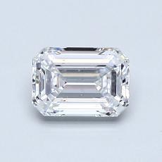 Recommended Stone #2: 0.72-Carat Emerald Cut Diamond