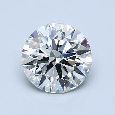 1.10-Carat Round Diamond Ideal K VS1