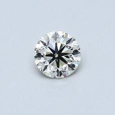 Pierre recommandée n°3: Diamant rond 0,37 carat