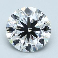 Recommended Stone #3: 2.01-Carat Round Cut Diamond