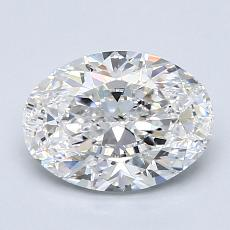 Recommended Stone #3: 1.50-Carat Oval Cut Diamond