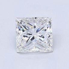 Recommended Stone #4: 1.01-Carat Princess Cut Diamond