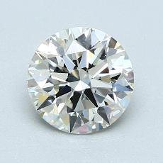 1,12-Carat Round Diamond Ideal K VVS2