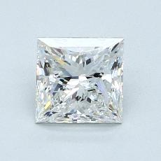 1.05-Carat Princess Diamond Very Good F IF
