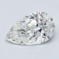 Target Stone: 1.24-Carat Pear Cut Diamond