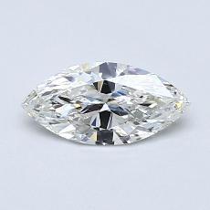 推薦鑽石 #2: 0.51  克拉欖尖形切割鑽石