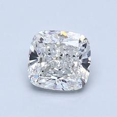 1.02-Carat Cushion Diamond Very Good H VVS1