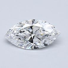 0.70-Carat Marquise Diamond Very Good D IF