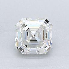 Recommended Stone #1: 1.04-Carat Asscher Cut Diamond