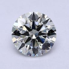 4.02 Carat 圓形 Diamond 理想 I VS1